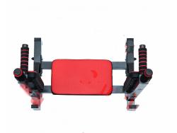 Брусья-пресс-упоры для штанги (подушки красные)
