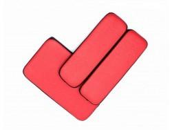 Подушки красные для 3в1, комплект