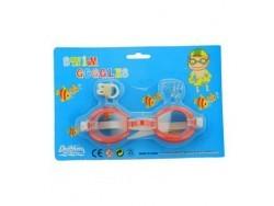 Очки для плавания + беруши + зажим для носа TX69406