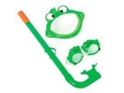 24019 Набор маска + трубка + очки