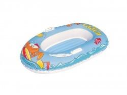 34009 Лодка для плавания надувная Крабики, 137*89см