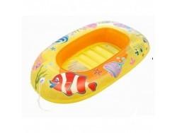 34036 Надувная лодочка Рыбки 112х71 см