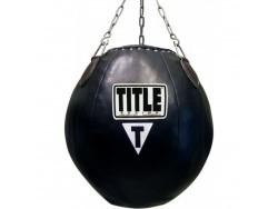 Мешок Боксёрский TITLE Шар 30 кг