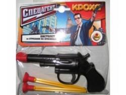 """116 Пистолет """"Спецагент"""" со стрелами на присосках"""