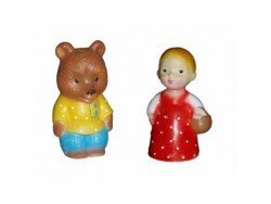 Маша + Медведь, 14 см и 15 см