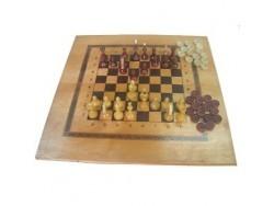 Игра 3в1 малая тонированная 400х200 ES-0056