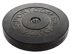 Диск обрезиненный 20 кг 31мм