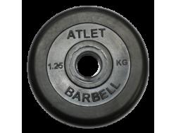 1.25 кг диск (блин) 26 мм.
