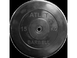 15 кг диск (блин) 26 мм.