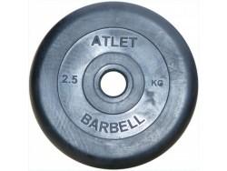 2.5 кг. диск (блин) 51 мм.