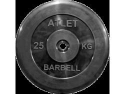25 кг диск (блин) 26 мм.