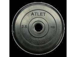 2.5 кг. диск (блин) 31 мм.