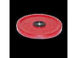 25 кг диск (блин) Евро-Классик (красный)