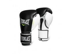 Перчатки тренировочные Powerlock Black and White (14 унций)