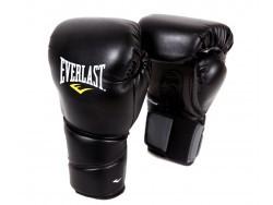 Перчатки тренировочные Protex2 Black (10 и 12 унций)