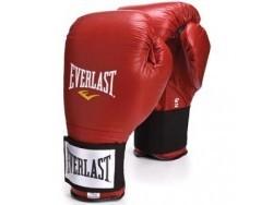 Перчатки тренировочные на липучке Everlast Red (10, 12, 14 и 16 унций)