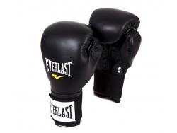 Перчатки тренировочные на липучке Everlast Black (10, 12, 14 и 16 унций)