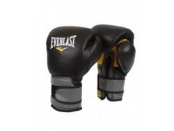 Перчатки тренировочные на липучке Pro Leather Strap (10, 12, 14 и 16 унций)