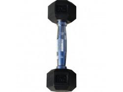 Гантель гексагональная обрезиненная, хромированная ручка, 2 кг (Body-Solid)