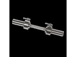 Гриф для гантели хромированный, 530 мм.