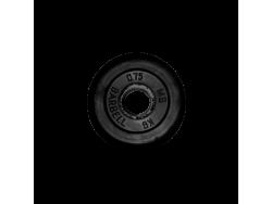 0.75 кг диск (блин) MB Barbell (черный) 26 мм.