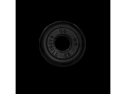 0.5 кг диск (блин) MB Barbell (черный) 26 мм.