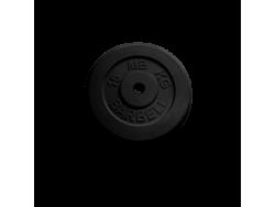 15 кг диск (блин) MB Barbell (черный) 26 мм.