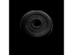 5 кг диск (блин) MB Barbell (черный) 50 мм.