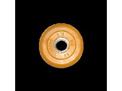 0.75 кг диск (блин) MB Barbell (желтый) 26 мм.