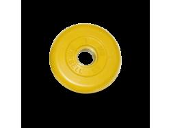 1 кг диск (блин) MB Barbell (желтый) 26 мм.