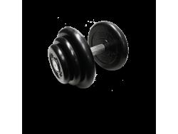 MB-FdbM-B18,5 Гантель неразборная черная 18,5 кг