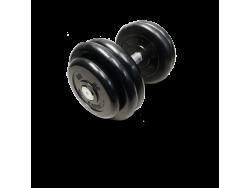 MB-FdbM-B23,5 Гантель неразборная черная 23,5 кг