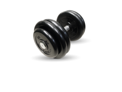 MB-FdbM-B26 Гантель неразборная черная 26 кг