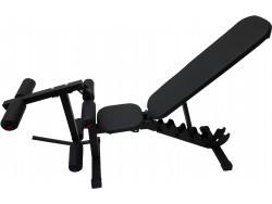Скамья Orion Sportlim Lite Black + Керл для ног