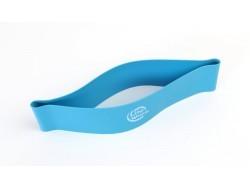 Латексная лента для фитнеса (голубая)