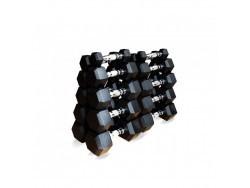 Набор гексагональных гантелей от 1 до 5 кг
