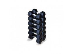 Набор гексагональных гантелей 12,5 до 20 кг
