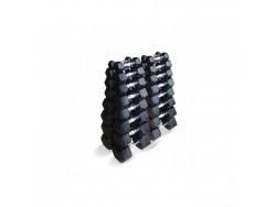 Набор гексагональных гантелей 1 до 10 кг