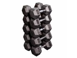 Набор гексагональных гантелей: от 32,5 кг до 40 кг