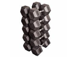 Набор гексагональных гантелей: от 42,5 кг до 50 кг