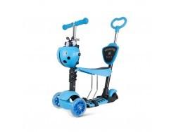 Самокат Scooter 3 в 1 Голубой