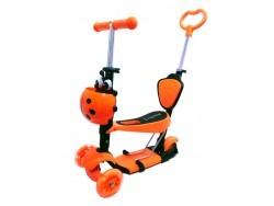 Самокат Scooter 3 в 1 Оранжевый