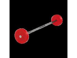 Штанга неразборная с цветными дисками 25 кг