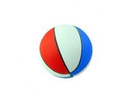 Мяч PU трехцветный 10см TX31506