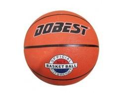 Мяч баск. DOBEST RB7-0886 р.7 резина, оранж
