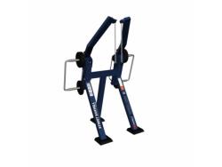 Уличный тренажер Веревочная вертикальная тяга стоя с изменяемой нагрузкой МВ 7.46