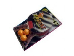 "Набор для н/т ""Сабер"": 2 ракетки + 3 шарика"