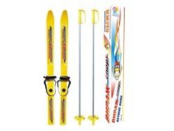 "Лыжи детские ""Вираж-спорт"" с палками L=100"